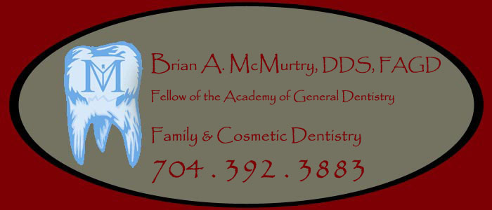 Charlotte cosmetic dentist Brian McMurtry